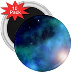 Amazing Universe 3  Button Magnet (10 pack)