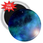 Amazing Universe 3  Button Magnet (100 pack)