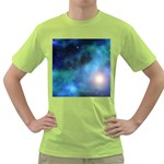 Amazing Universe Men s T-shirt (Green)