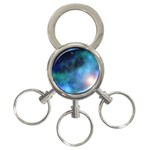 Amazing Universe 3-Ring Key Chain