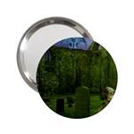 Gothic Fantasy Graveyard 2.25  Handbag Mirror