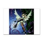 Purple Night Elf Fairy Sticker (A4)