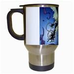 Purple Night Elf Fairy Travel Mug (White)