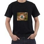 Demon in My Eye Goth Punk Fantasy Black T-Shirt