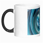 Blue and Silver Twisted Future Fantasy Morph Mug