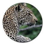 Leopard 2 Round Mousepad