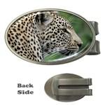 Leopard 2 Money Clip (Oval)