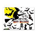 Happy Halloween Collage A4 Sticker