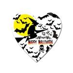 Happy Halloween Collage Magnet (Heart)