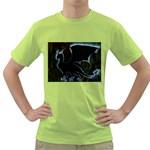 Dragon Aura Men s T-shirt (Green)