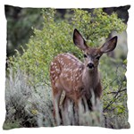 deer one Large Cushion Case (Two Sides)