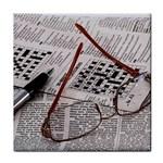 Crossword Genius Ceramic Tile