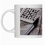 Crossword Genius White Coffee Mug
