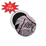 Crossword Genius 1.75  Button Magnet (10 pack)