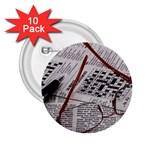 Crossword Genius 2.25  Button (10 pack)