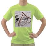 Crossword Genius Men s T-shirt (Green)