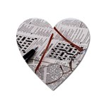 Crossword Genius Magnet (Heart)