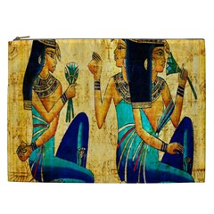 Egyptian Queens Cosmetic Bag (xxl) by TheWowFactor