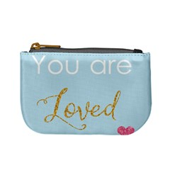 You Are Loved Mini Coin Purse by Kathrinlegg