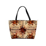 Here There Be Monsters Talking Board Classic Shoulder Handbag