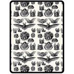 Haeckel Chiroptera Fleece Blanket (Large)