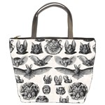 Haeckel Chiroptera Bucket Bag