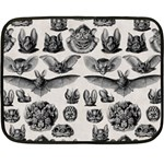 Haeckel Chiroptera Double Sided Fleece Blanket (Mini)
