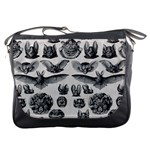 Haeckel Chiroptera Messenger Bag