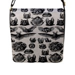 Haeckel Chiroptera Flap Closure Messenger Bag (Large)