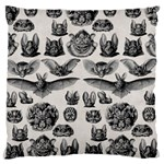 Haeckel Chiroptera Large Flano Cushion Case (Two Sides)