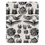 Haeckel Chiroptera Double Sided Flano Blanket (Large)