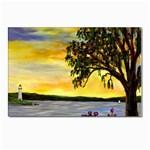Amelia s Lighthouse -AveHurley ArtRevu.com- Postcards 5  x 7  (Pkg of 10)