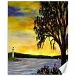 Amelia s Lighthouse -AveHurley ArtRevu.com- Canvas 16  x 20