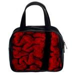 The Vintage Brain Classic Handbag (Two Sides)