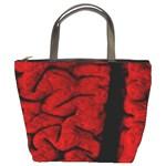 The Vintage Brain Bucket Bag