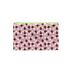 Spot The Ladybug Cosmetic Bag (xs) by Kathrinlegg