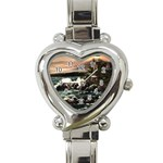 Kerry s Lighthouse -  Ave Hurley   - Heart Italian Charm Watch
