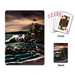 Kerry s Lighthouse -  Ave Hurley   - Playing Cards Single Design