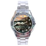 Kerry s Lighthouse -  Ave Hurley   - Stainless Steel Analogue Men's Watch