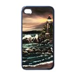 Kerry s Lighthouse -  Ave Hurley   - Apple iPhone 4 Case (Black)