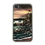 Kerry s Lighthouse -  Ave Hurley   - Apple iPhone 4 Case (Clear)