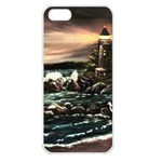 Kerry s Lighthouse -  Ave Hurley   - Apple iPhone 5 Seamless Case (White)