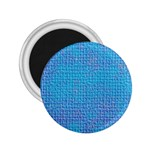 Textured Blue & Purple Abstract 2.25  Button Magnet