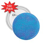 Textured Blue & Purple Abstract 2.25  Button (100 pack)