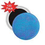 Textured Blue & Purple Abstract 2.25  Button Magnet (100 pack)