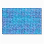 Textured Blue & Purple Abstract Postcard 4 x 6  (10 Pack)