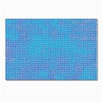 Textured Blue & Purple Abstract Postcards 5  x 7  (10 Pack)