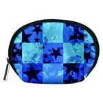 Blue Star Checkers Accessory Pouch (Medium)