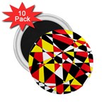Shattered Life With Rays Of Hope 2.25  Button Magnet (10 pack)