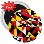 Shattered Life With Rays Of Hope 3  Button Magnet (10 pack)